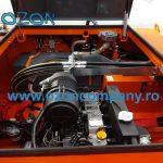 Barca taiat stuf C485 - Motorul culiseaza dreapta - stanga pentru contrabalansare