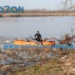 Barca taiat stuf C485 - Ecologizare lacuri balti canale de irigatii cai navigabile