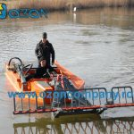 Barca taiat stuf C485 - Barca cositoare Conver C485II - taie si aduna