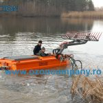 Barca taiat stuf C485 - Taierea stratului vegetal submers