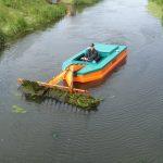 Barca taiat stuf C485 - Strangerea vegetatiei plutitoare