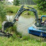 Amfibie utilitara Conver C550H - Excavatorul Amphitrax C550
