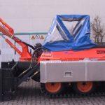 Amfibie Utilitara C580 H - Pontoane laterale de aluminiu