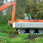 Amfibie Utilitara C580 H - Bratul hidraulic