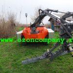 Amfibie Utilitara C580 H - Cutit T ramforsat pentru taierea stufului gros