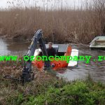 Amfibie Utilitara C580 H - Taietorul lateral util pentru intretinerea malurilor si digurilor