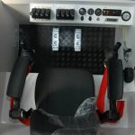 Amfibie Utilitara C625H - Cabina operatorului