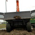 Amfibie Utilitara C625H - lama de buldozer