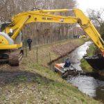 Impingator aluviuni - Conver C86xs pe canal