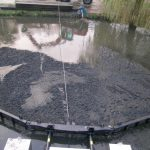 Impingator aluviuni - Cablu de troliu