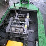 Impingator aluviuni - Troliu - instalatie