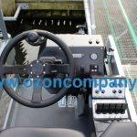 Combina Acvatica MC101 - Comenzile de control ale operatorului sunt amplasate ergonomic