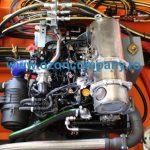 Combina Acvatica MC101 - Compatrimentul motor si instalatia hidraulica