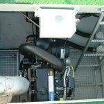 Combina Acvatica MC105-6 - Compartimentul motorului