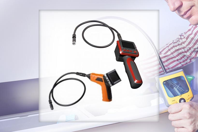 Echipamente pentru inspectie video in locuri greu accesibile