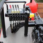 Comenzile hidraulice necesara utilizarii bratului macara