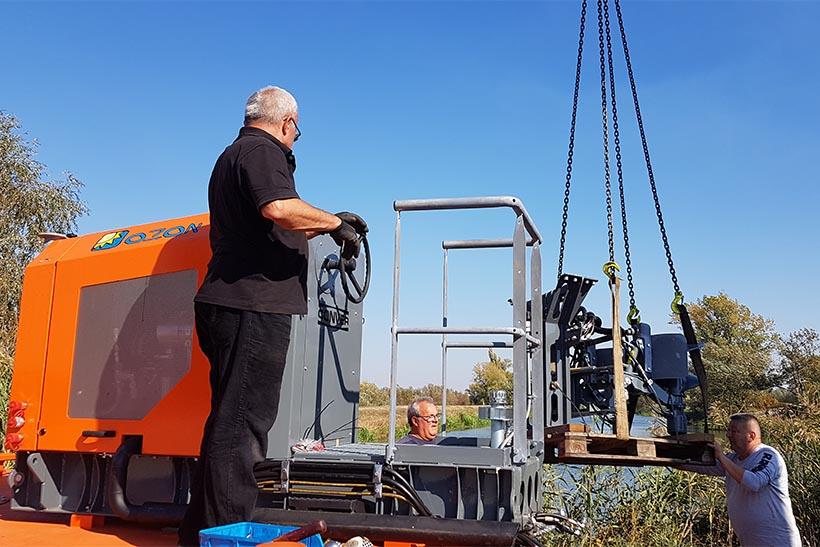 Instalarea unui set de navigatie Conver - elicele