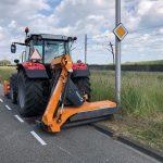 Votex Roadflex - perfect pentru cosirea vegetatiei pe drumurile cu numeroase obstacole