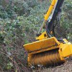 Herder – Cositoare silvicultura (mulcer) • capac de protectie actionat hidraulic