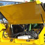 Herder Grenadier • partea din spate beneficiaza de un capac rabatabil mare ce ofera un bun acces componentelor hidraulice