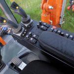 Conver C10 - cositoare pe trei roti • comenzi dispuse ergonomic