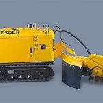 Distrugator buturugi si radacini autopropulsat • Herder-Fermex SCT-410H Senilat