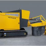 Distrugator buturugi si radacini autopropulsat • Herder-Fermex SCT-550H Senilat