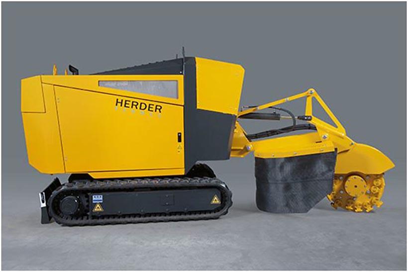 Distrugator buturugi si radacini autopropulsat • Herder-Fermex SCT-630H Senilat