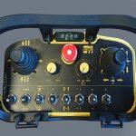 Radiocomanda • Distrugator buturugi si radacini autopropulsat • Herder-Fermex SCW-550H
